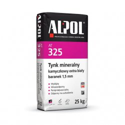 Alpol - tynk mineralny AT